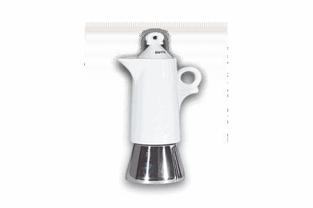 Espressokocher Ancap GIOTTO Bianco - 2 Tassen