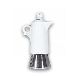 Espressokocher Ancap GIOTTO Bianco - 4 Tassen