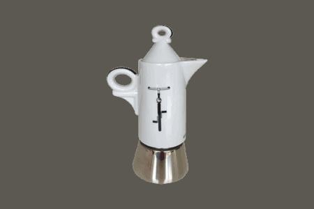 Espressokocher Ancap GIOTTO Italia in bici - 4 Tassen / à-porter