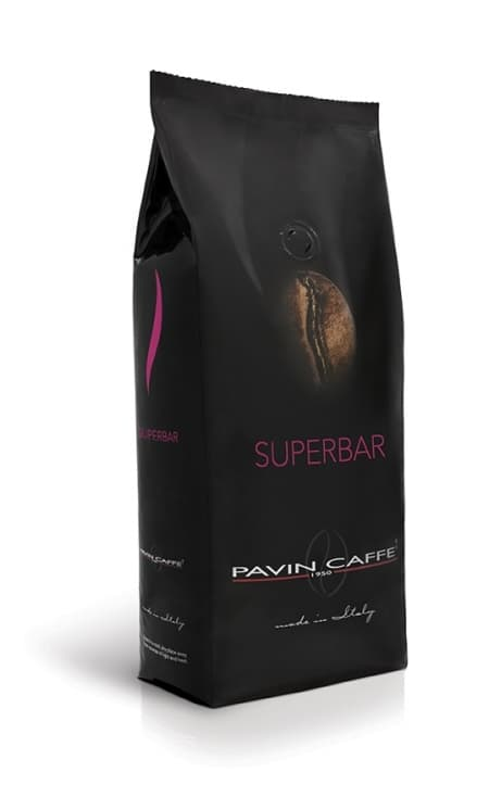 Pavin Caffé SUPERBAR 1 kg ganze Bohnen