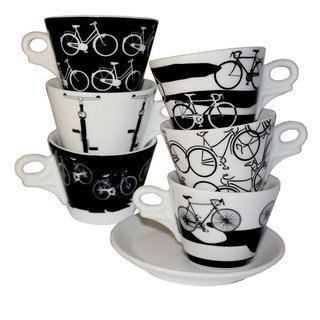 Ancap Giotto Italia in Bici CAPPUCCINOTASSEN 6ER SET 180 ml