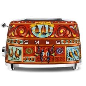 Smeg Dolce & Gabbana 2 SCHEIBEN TOASTER Sicily is my Love