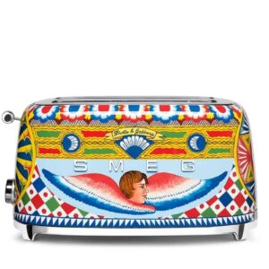 Smeg Dolce & Gabbana 4 SCHEIBEN TOASTER Sicily is my Love