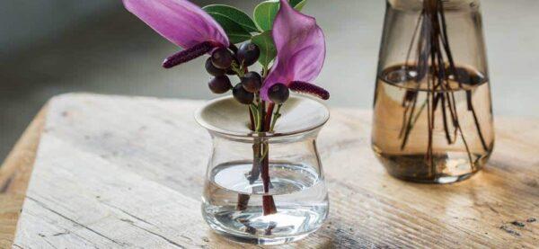Kinto LUNA Vase 80 x 70 mm klar