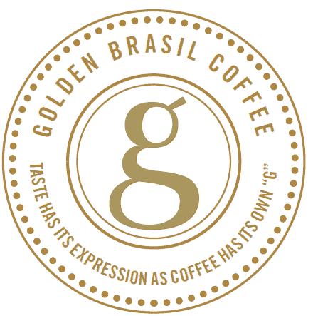 logo golden brasil coffee